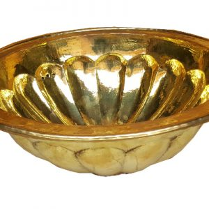 Moroccan brass or silver chromed 100% handwork washbasin directly from manufacturer